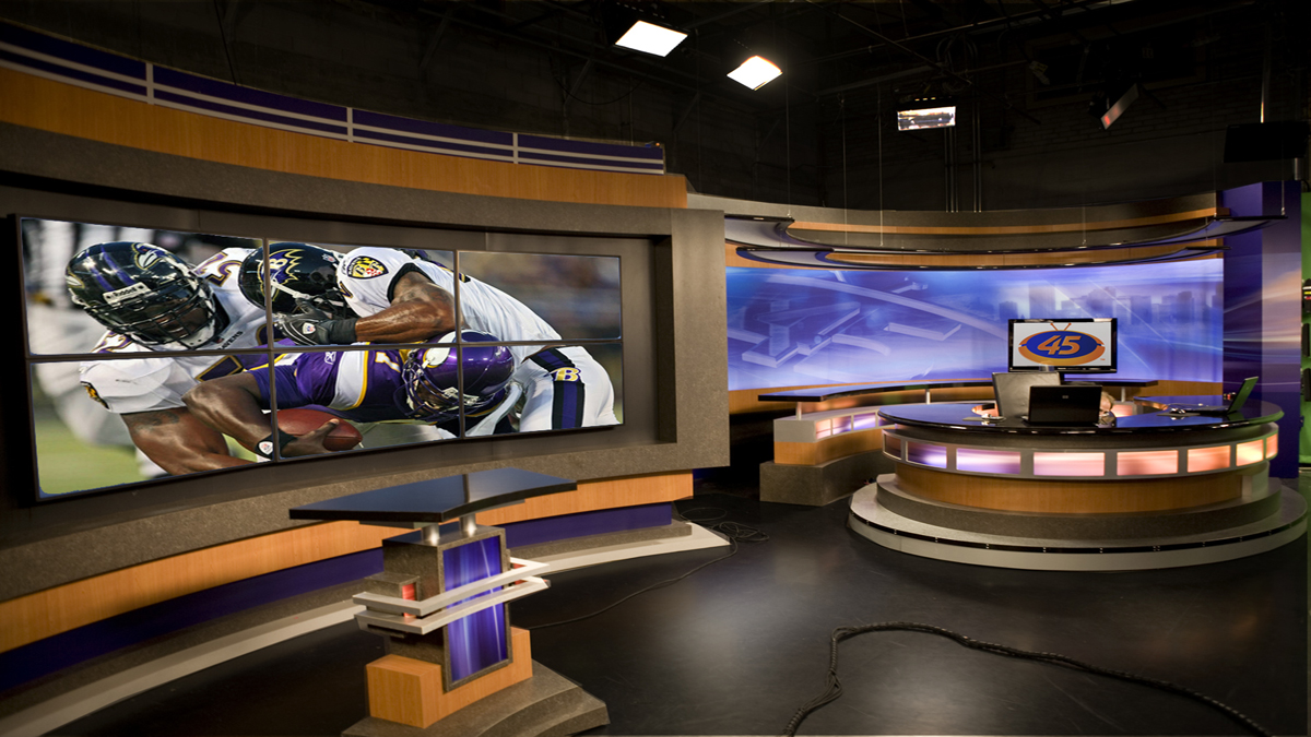 Tv Sports Set Desk Design By Park Place Studio