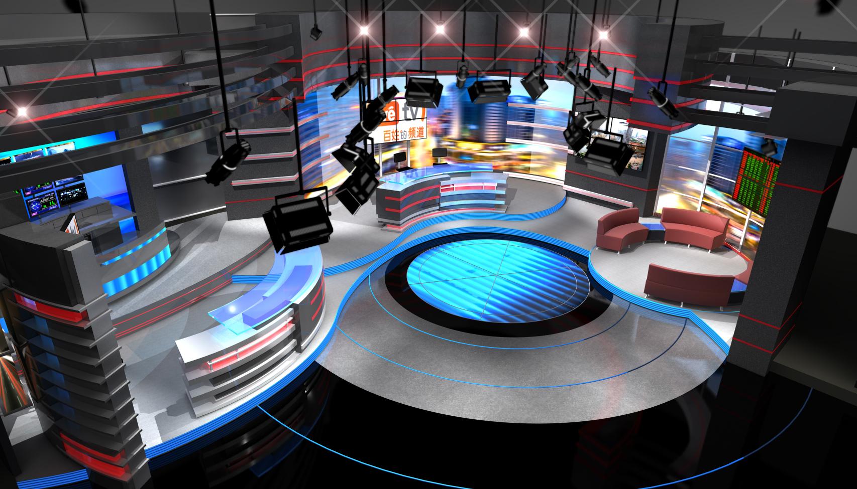 News set designs park place studio designers tv cable for The design studio