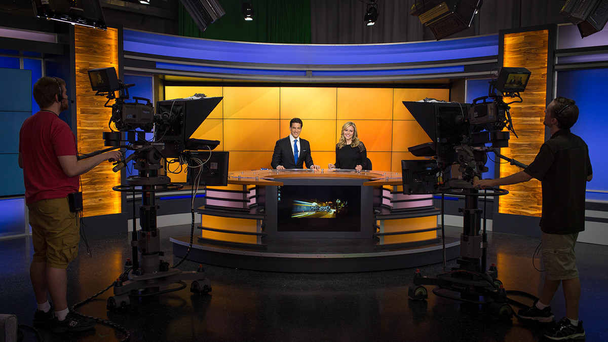 News Set Designs By Park Place Studio Design Build And Install Worldwide